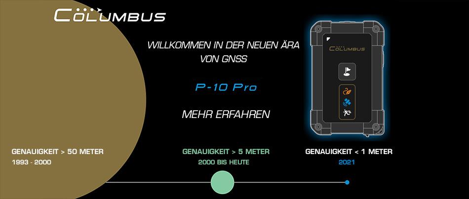 Columbus P-10 Pro GNSS Datenlogger